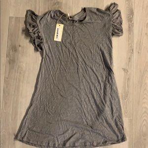 NWT. Short Gray Dress